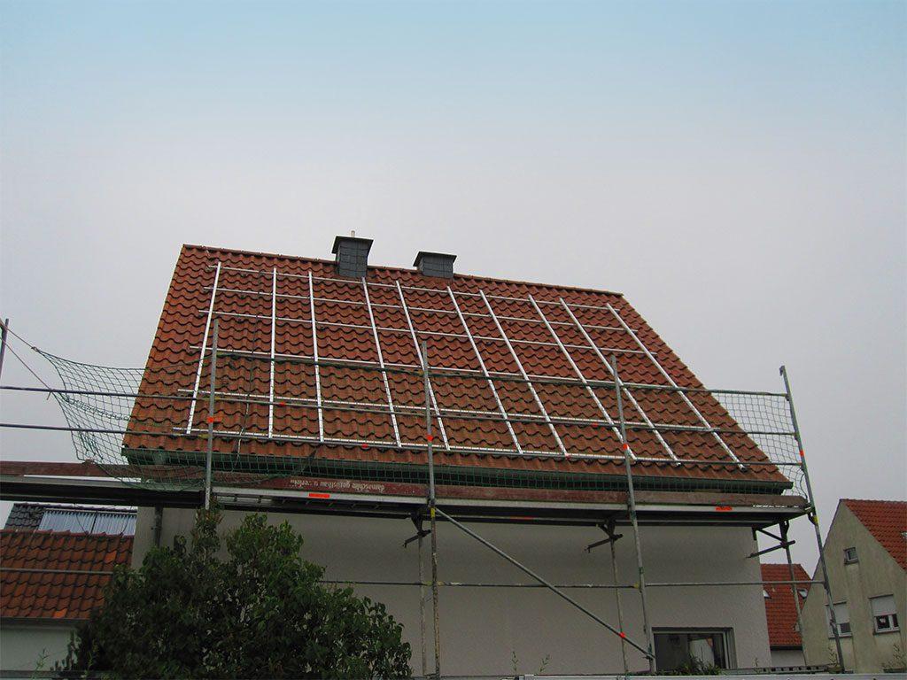Unterbau für Photovoltaikanlage